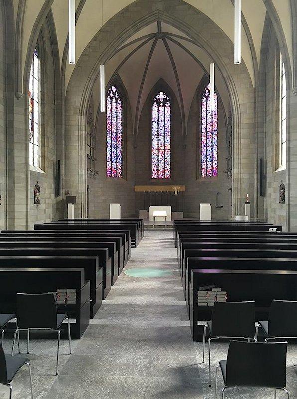 Thomas Schuhmann Innenausbau GmbH - Denkmalpflege - St. Augustin Kirche Coburg - Kirchengestühle und Einrichtung