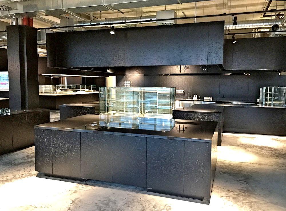 Thomas Schuhmann Innenausbau GmbH - Objekteinrichtung - Freiraum Garching - Gastronomie für 1500 Essen Mittagstisch 05